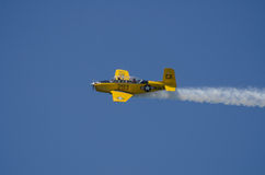 Airplane show Stock Photo