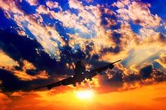 Free Airplane Silhouette Stock Photos - 36381693