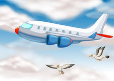 An airplane Royalty Free Stock Photography
