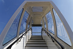 Airplane stairs Royalty Free Stock Image