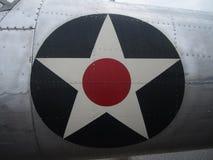 Airplane Star Stock Image