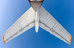 Airplane tail royalty free stock photo