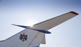 Airplane tail Stock Image
