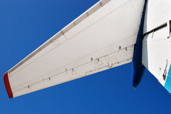 Airplane tail wing Royalty Free Stock Photography