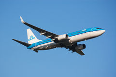 Airplane take-off Royalty Free Stock Photo