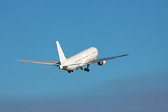 Airplane takeoff Stock Images