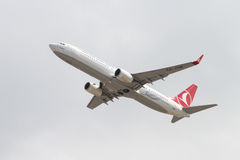 Airplane Takes Off Stock Images