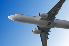 Airplane taking off Royalty Free Stock Images