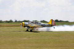 Airplane taking off Royalty Free Stock Photography