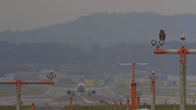 Airplane Taking Off At Zurich Airport