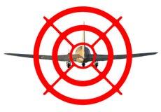 Airplane target Royalty Free Stock Photo
