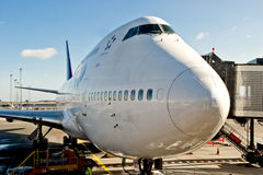 Airplane terminal Stock Images