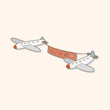 Airplane theme elements vector,eps Royalty Free Stock Photo