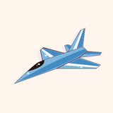 Airplane theme elements vector,eps Stock Photography