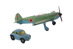 Airplane toy Royalty Free Stock Images