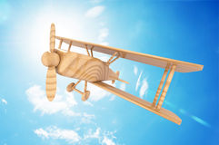 Airplane toy Stock Images