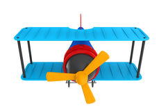 Airplane Toy Isolated Royalty Free Stock Photo