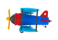 Airplane Toy Isolated Stock Image