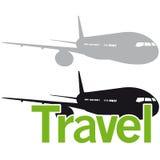 Airplane travel logo element Stock Photos