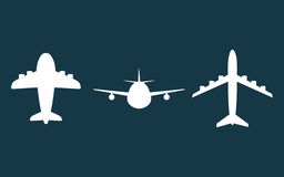 Airplane and travels Royalty Free Stock Photography