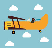 Airplane and travels Royalty Free Stock Photos