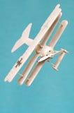 Airplane triplane toy miniature Royalty Free Stock Photo