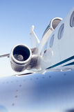 A airplane turbine detail Stock Photography