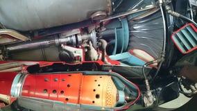 Airplane turbine Stock Photos