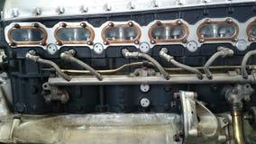 Airplane turbine Royalty Free Stock Photo