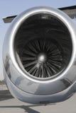 Airplane Turbojet Stock Image