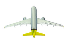 Airplane - up view Royalty Free Stock Image