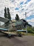 Airplane of the USSR royalty free stock image