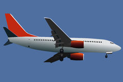 Airplane vector Royalty Free Stock Photo
