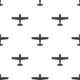 Airplane, vector seamless pattern Royalty Free Stock Photography