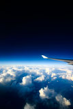 Airplane view royalty free stock image