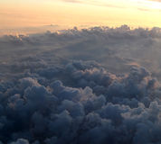 Airplane view Stock Image