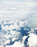 Airplane view Royalty Free Stock Photo