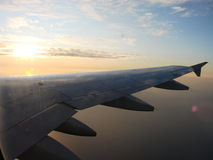 Airplane view Stock Photos