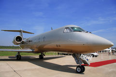 Airplane for vip flights. (aircraft Royalty Free Stock Photos