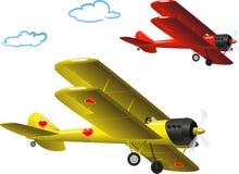 Airplane-12_wh μπακαράδων Ελεύθερη απεικόνιση δικαιώματος
