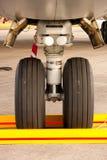Airplane Wheel Stock Photo