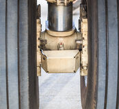 Airplane wheel Stock Image