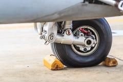 Airplane wheel Stock Photos