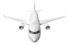 Airplane on white. Royalty Free Stock Photos