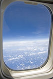 Airplane Window Stock Images