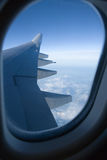 Airplane Window Royalty Free Stock Photos