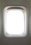 Airplane window. Empty blank airplane glass window stock images