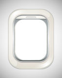 Airplane window with no view Stock Photography