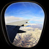 Airplane Window for Travel Royalty Free Stock Image