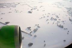 Airplane window Stock Photos
